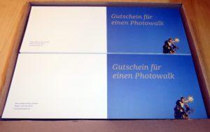 Gutschein Photowalk